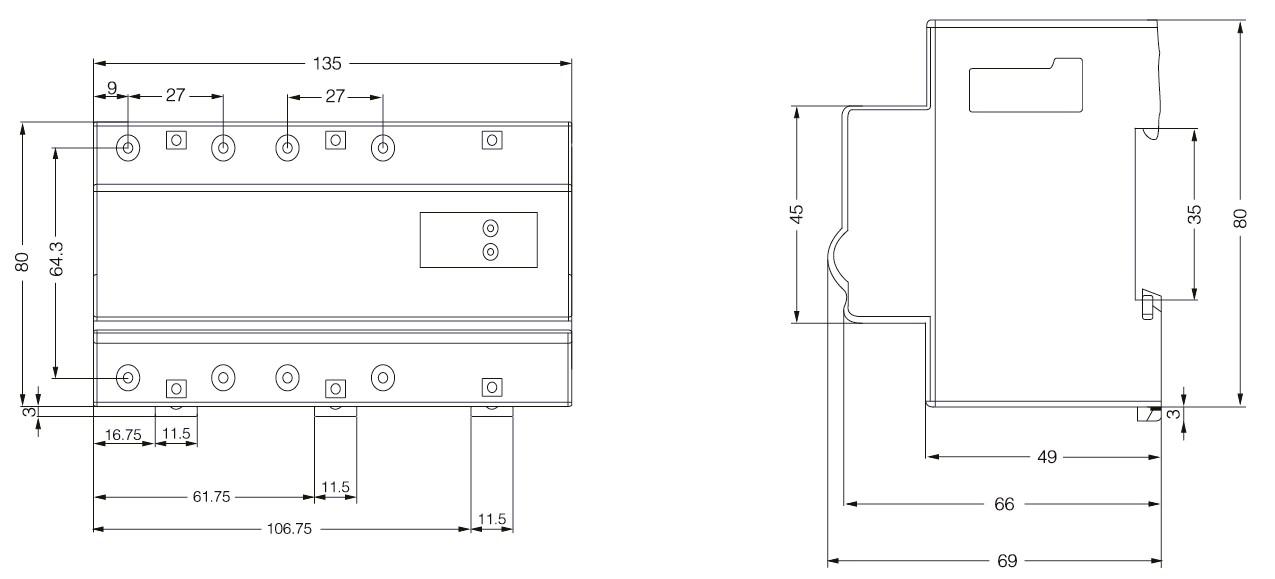 自复式过欠电压保护器yu8-40接线图