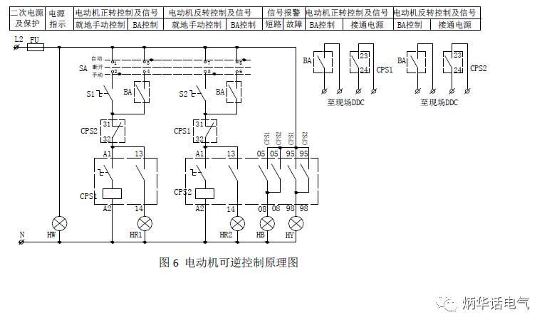 电动机可逆控制原理图
